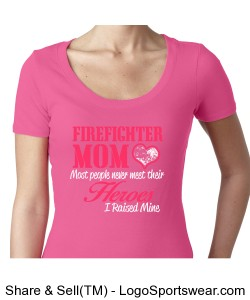 Fire Fighter Mom Design Zoom